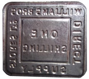 1 Shilling - Williams Bros. Direct Supply Stores Ltd – reverse