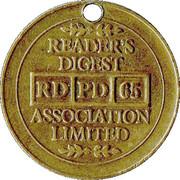 Token - Reader's Digest (RD PD 65 Association Limited) – reverse