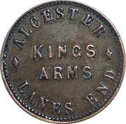 3 Pence - Kings Arms Beer – reverse