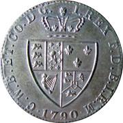 Spade Guinea Gaming Token - George III (William Charles Bagnall & Co, Birmingham) – reverse
