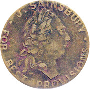 Spade Guinea Gaming Token - George III (J. Sainsbury Imitation) – obverse