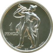 2007 Mint of Hungary / BU coin set medal – reverse