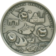 Token - Istanbul (2010 European Capital of Culture) – obverse