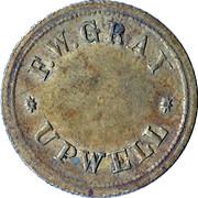 1½ Pence - D F.W. Gray Upwell Farm – reverse