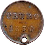 1 Farthing (Truro Theatre) – reverse
