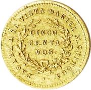 5 Centavos - Quiroga – obverse