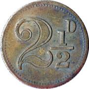 2½ Pence - F.W. Gray Upwell Farm – reverse