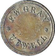2½ Pence - F.W. Gray Upwell Farm – obverse