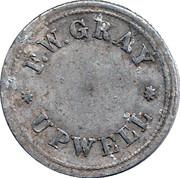 1 Shilling - F.W. Gray Upwell Farm – obverse