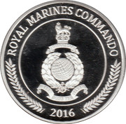 Token - Royal Marines – obverse