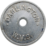 Token - Darlington W.V.S. – obverse
