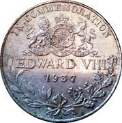 King Edward VIII Coronation Medal – reverse