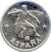 Token - FIFA World Cup 1990 (Spain) – obverse