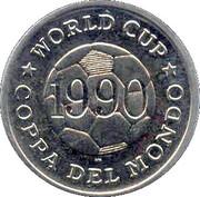Token - FIFA World Cup 1990 (Spain) – reverse