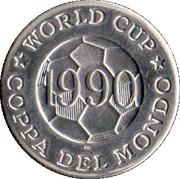 Token - FIFA World Cup 1990 (Yugoslavia) – reverse