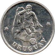Token - FIFA World Cup 1990 (Uruguay) – obverse