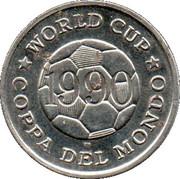 Token - FIFA World Cup 1990 (Uruguay) – reverse