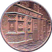 Coronation Street 50 Years Anniversary Medal – obverse