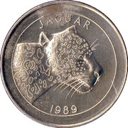 Token - World Savers (Jaguar) – obverse