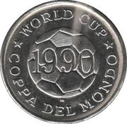 Token - FIFA World Cup 1990 (Soviet Union) – reverse