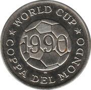 Token - FIFA World Cup 1990 (United Arab Emirates) – reverse