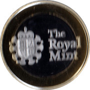 Royal Mint 2015 Premium Medal – reverse