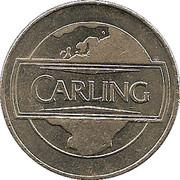 Token - Carling – reverse