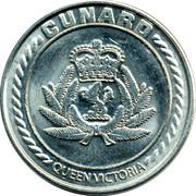 Casino Token - Cunard Queen Victoria – obverse