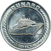 Casino Token - Cunard Queen Victoria – reverse