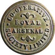 1 Pound - Royal Arsenal Co-Operative Society – obverse