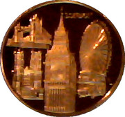 Houses of Parliament - London – reverse