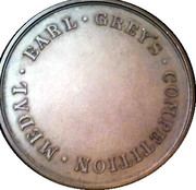 Earl Grey Competition Medal – reverse