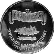 Glenturret Distillery Medal – reverse