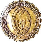 Counter Token (copie d'un ducat d'or du doge Alvise III Mocegino) – obverse