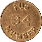 Pub 94 Free Beer Money – obverse
