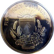 First Holy Communion – obverse