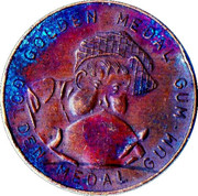 Golden Medal Gum (Running) – reverse