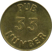 Pub 33 Free Beer Money – obverse