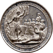 Medallion - Independent order of Rechabites – reverse