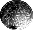 Token - Six British Monarchs (Elizabeth II) – reverse