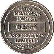 Token - Reader's Digest (02664) – reverse