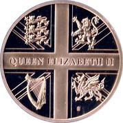 Queen Elizabeth II first official overseas tour – reverse