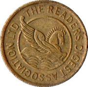 Token - Reader's Digest Association Ltd – obverse