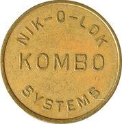 Token - Nik-O-Lock Kombo – reverse