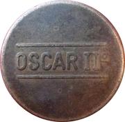 Token - Oscar II (Moneglia) – reverse