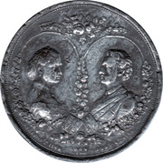 Marriage of Princess Louise to the Marquis of Lorne - Medallion – obverse