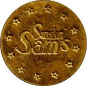Token - Smilin' Sam's – obverse