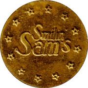 Token - Smilin' Sam's – reverse