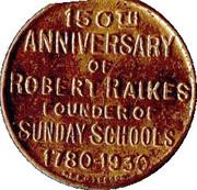 Robert Raikes – reverse