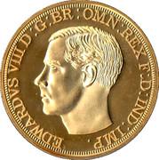 King Edward VIII 1936 - New strike pattern crown – obverse